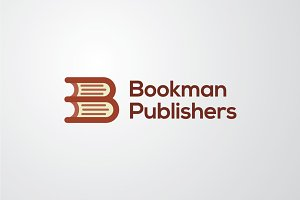 Bookman Publishers | Vector Logo