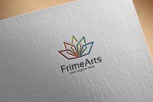 FrimeArts - logo template