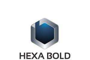 Hexa Bold – Logo Template