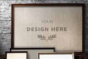 Design space photo frame (PSD)