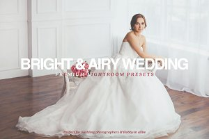 Bright & Airy Wedding Lr Presets