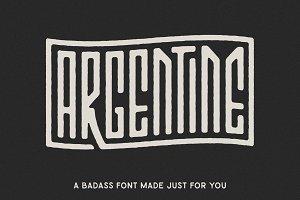 ARGENTINE FONT