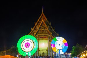 Festival of the temple, Thailand