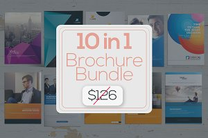 10 Multi-pages Brochure -Big Bundle