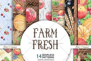 Farm Fresh Digital Paper