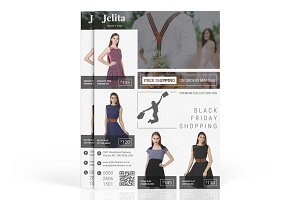 Jelita : Fashion Marketing Flyer