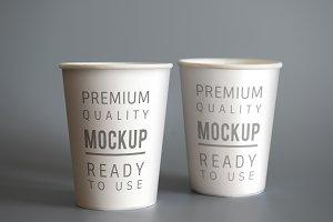 Cup mockups (PSD)