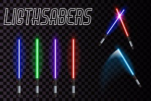 Vector lightsaber