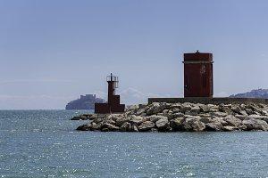 Port of Benicarlo (Castellon).