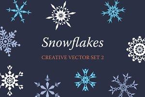 9 Creative Graphic Snowflakes