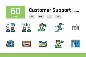 Customer Support Iconpack
