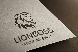 Lion Boss Logo