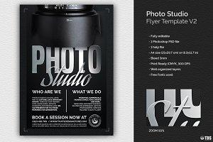 Photo Studio Flyer Template V2