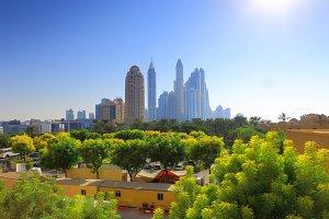 Beautiful cityscape of Dubai