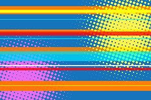 pop art modern multicolor halftone background