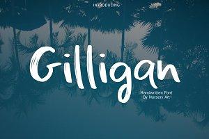 Gilligan | Handwritten Font