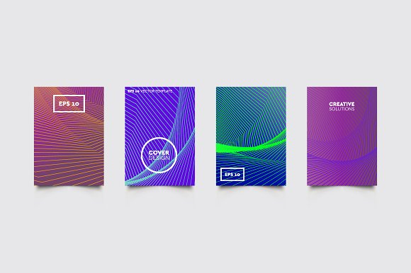 Cover Vector Patterns #192 in Brochure Templates