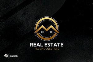 Circle House - Real Estate Logo