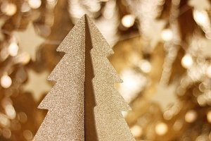 Beautiful stylish Christmas decorations
