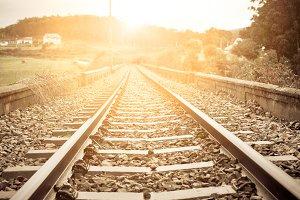 Old Rural Railroad