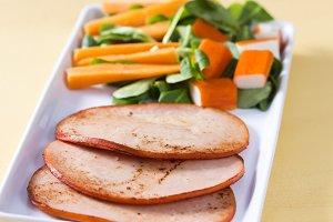 Healthy fillets turkey