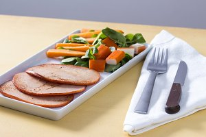 Healthy fillets turkey