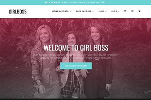 Wordpress Theme - Girlboss