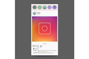 Instagram application