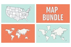 Map Bundle Vector