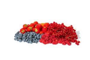 Berries in a bunch