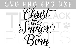 Christ the savior SVG DXF PNG EPS