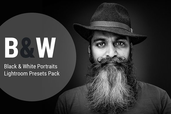 05 Black White Lightroom Presets