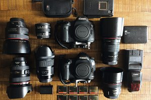 Gear of a Photographer