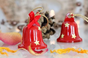 Close up Christmas Bells