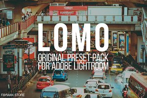 LOMO Original presets for Lightroom