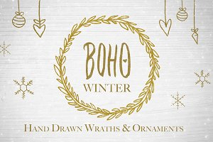 Boho Winter | Wraths & Ornaments