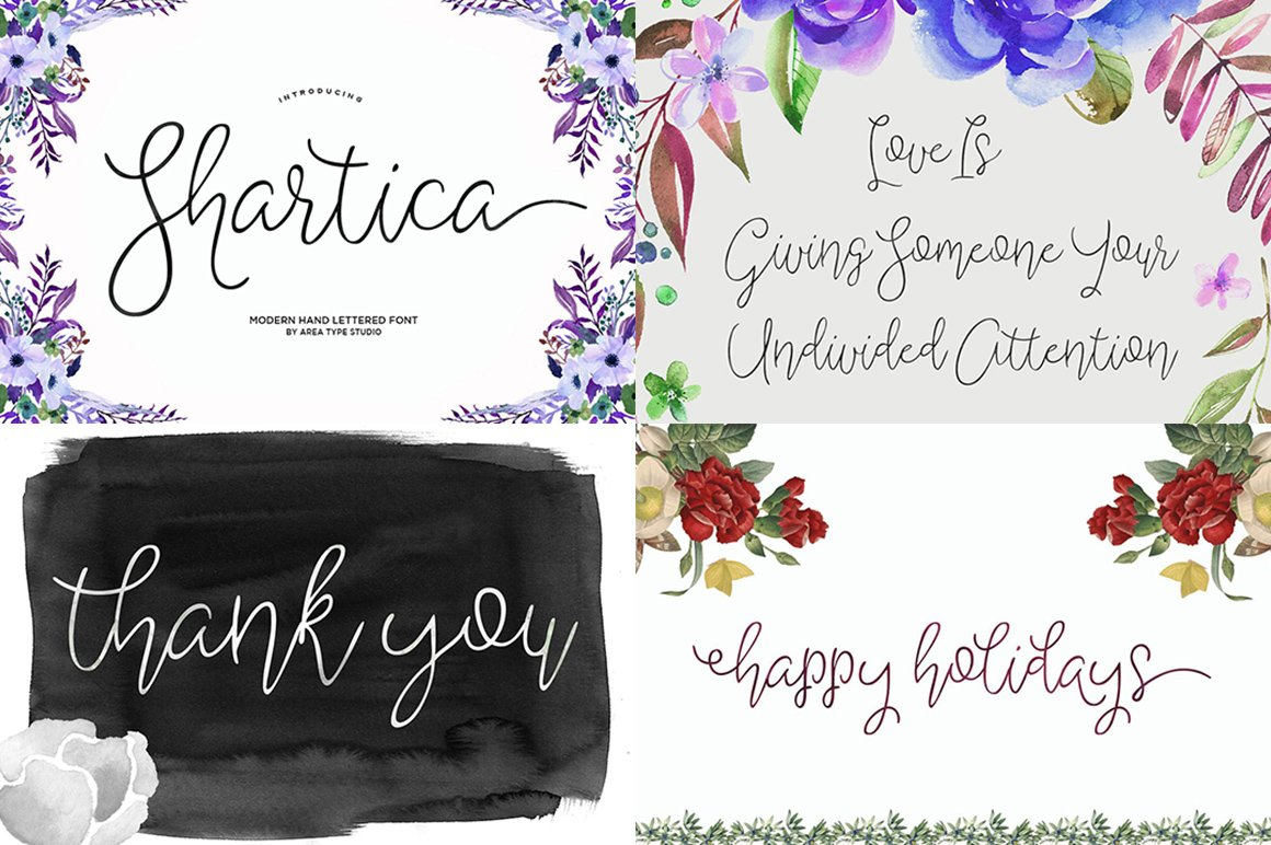 Handwritten Fonts Collection - Script