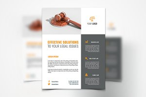 Law Services Flyer