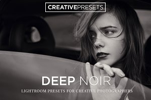 Deep Noir B&W Lightroom Presets
