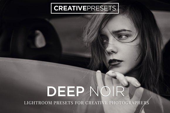 Deep Noir B&W Lightroom Pre-Graphicriver中文最全的素材分享平台