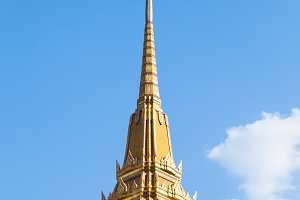 High temple roof