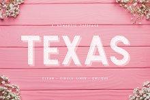 Texas | A Romantic Typeface