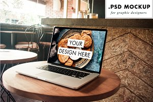 Working from the bar PSD mockup