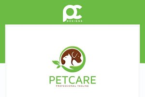 Pet Care - Veterinary Logo Template