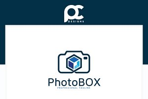 Photo Box Logo Template