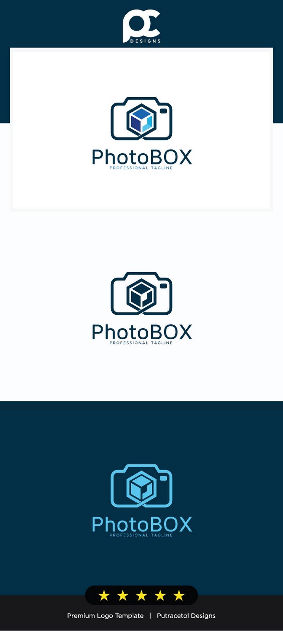 Photo Box Logo Template ~ Logo Templates ~ Creative Market