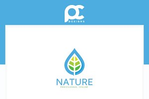 Fresh Water Logo Template