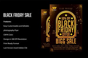 Black Friday Sale flyers