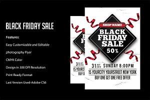 Black Friday Sale flyers