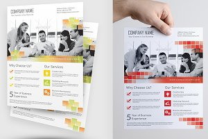 Corporate Flyer Template Vol 04